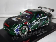 Mazda RX7 Green Die Cast Metal Model Car Scale 1:32 Collectable NEW