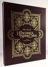 The Art of the Hunchback of Notre Dame by Stephen Rebello Signed, Limited- High