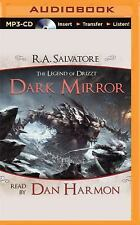 Dark Mirror : A Tale from the Legend of Drizzt by R. A. Salvatore (2015, MP3...