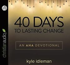 40 Days to Lasting Change : An AHA Challenge by Kyle Idleman (2015, CD,...