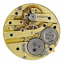 LECOULTRE SWISS CYLINDER HIGH GRADE POCKET WATCH MOVEMENT SPARES OR REPAIRS R102