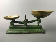 Antique Parnall & Sons Bristol England Balance Scale Painted Cast Iron & Brass