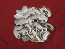 FRENCH SPINNER  SIZES 2/3 4/5 SILVER Ideal TO MAKE FLYING c lures 12 pack £3.00.