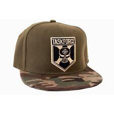 DC COMICS SUICIDE SQUAD TASKFORCE X SYMBOL CAMP PRINT SNAPBACK CAP (NEW)