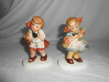 Vintage Lefton girl figures Twd02539