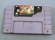 EARTHWORM JIM 2 1995 SNES Super Nintendo PINS CLEANED TESTED WORKS