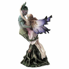 "9.25"" Fairy Kissing Treebeard Sculpture Figure Figurine Statue Home Decor"