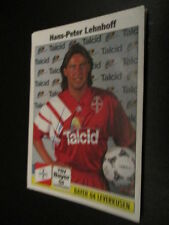 A-02 Lehnhoff Bayer Leverkusen original signiertes Panini Sammelbild 90er