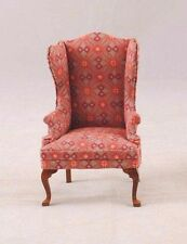 Chair - Queen Anne dollhouse miniatures 1pc T6856 1/12 scale