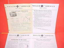 1946 1947 FORD CHEVROLET CHRYSLER STUDEBAKER PHILCO RADIO SERVICE MANUAL UN6-450