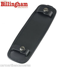 "Billingham SP50 Shoulder Bag Pad For 2"" - Fits 107 207 307 - Black Leather"