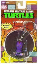 Kidrobot Teenage Mutant Ninja Turtles Foot Soldier Mini Keychain Figure NEW Toys