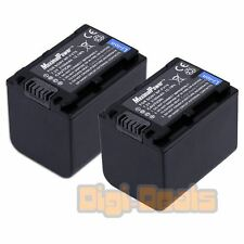 BATTERY x 2 for SONY NP-FV70 NP-FV50 NP-FV100 NP-FH30 Camera TWO BATTERIES