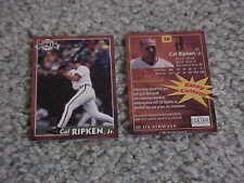 2001 Cal Ripken Jr Baltimore Orioles US Airways Sports Authority Baseball Card