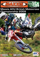 Maxxis ACU British Motocross Championship - Official review 2009 (New DVD) MX