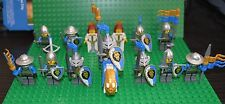 100% real and New LEGO Castle Lion knight minifigures lot