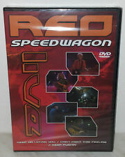 DVD REO SPEEDWAGON - LIVE - SEALED SIGILLATO