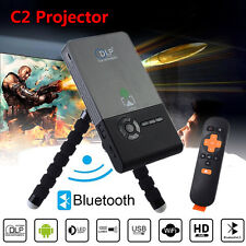 CSC2 WiFi Smart DLP Mini Projector Full HD1080P 4K BT LED Porjector HDMI/USB VGA