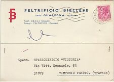 QUAREGNA - FELTRIFICIO BIELLESE (BIELLA) 1971