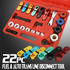 22PC Fuel Transmission Comprehensive Tool Line Filter Disconnect Shop Tank Lines