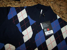 FOOTJOY - NWT - JUPITER PERFORMANCE 1/2 ZIP MERINO WOOL SWEATER - M