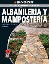 La Guia Completa sobre Albanileria y Mamposteria: Incluye trabajos dec-ExLibrary