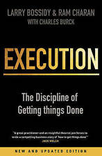 BOSSIDY/CHARAN-EXECUTION (REVISED EDITION) BOOK NEW