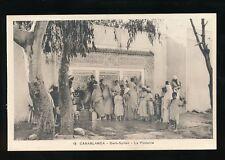 Morocco CASABLANCA Derb-Sultan La Fontaine c1920/30s? PPC