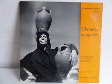 CHOR MADRIGAL DE BARCELONE Dir MANUEL CABERO Chansons espagnoles HMO 30599