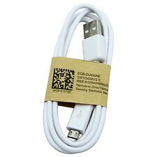 3M LONG WHITE MICRO USB DATA SYNC CHARGER CABLE FOR HTC SAMSUNG PHONES TABLETS