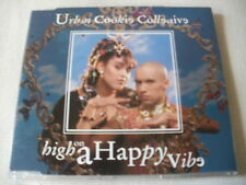 URBAN COOKIE COLLECTIVE - HIGH ON A HAPPY VIBE - UK CD SINGLE