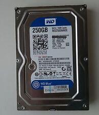 """WD Caviar Blue 250GB WD2500AAKX , 3,5""""(Zoll), 16MB Cache, SATA III, 6Gb/s"""