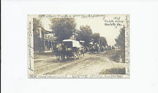 PA ROULETTE HOUSE 1906 RPPC SOLDIERS HORSES MARTHA ROSSMANN SWEDEN VALLEY DPO
