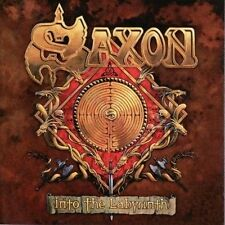 Saxon - Into The Labyrinth - 2009 CD NEW DELUXE EDITION 2 DISC