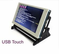 "7"" USB Capacitive Touch Screen 800x480 LCD HDMI Raspberry Pi 2 B/B+ With Bracket"