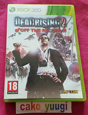 DEAD RISING 2 OFF THE RECORD XBOX 360 TRES BON ETAT VERSION 100% FRANCAISE