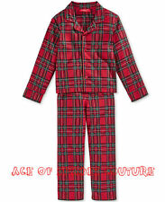 FAMILY PAJAMAS  Kid's Buffalo Check Plaid 2PC Set SZ-6/7     aceofspadescouture