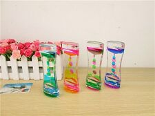 Colorful Floating Illusion Timer Liquid Visual Desktop Toy Motion Oil Dropper