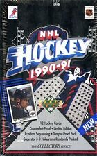 2 BOX LOT 1990-91 UD UPPER DECK LOW SERIES SEALED HOCKEY BOX