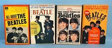 The Beatles 4 Vintage 1964 Paperback Photo Books All About True Story Up to Date