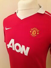 Manchester United Home Shirt 2010/11 - Xl 13/15 Years - Great Condition