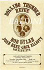 BOB DYLAN - HIGH QUALITY EARLY VINTAGE 1975 CONCERT POSTER, LOOKS GREAT FRAMED