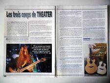 COUPURE DE PRESSE-CLIPPING : DREAM THEATER [2pages] 01/2002 John Petrucci