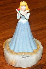 Disney Ron Lee LE 374/1000 Sparkly Sleeping Beauty (Aurora) Marble Base Statue