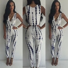 Women Ladies Sleeveless Jumpsuit Romper Trousers Bodycon Clubwear Party Playsuit