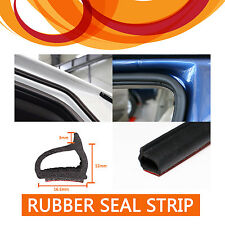 8M D Shape Rubber Weather Strip Dust Proof EPDM Material Air Seal Self-adhesive
