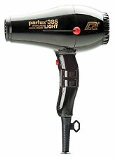Parlux 385 Professional Power Light Ionic Ceramic Hairdryer Black