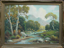 JOHN ANTHONY CONNER (1892-1971) Listed California artist
