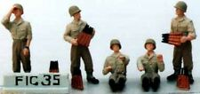 Milicast FIG035 1/76 Resin WWII GI AA Crew