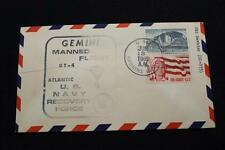 NAVAL SPACE COVER 1965 GEMINI GT-4 RECOVERY SHIP USS HAWKINS (DD-873) (2396)